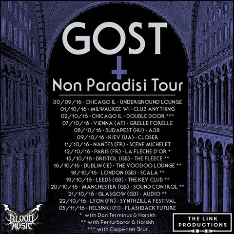 Gost tour poster
